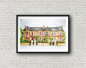 House Portrait - ORIGINAL ARTWORK - made to order