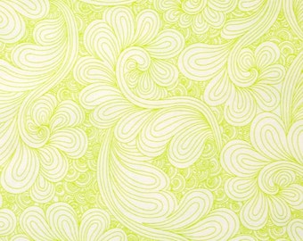 Kaufman - Angela Walters - Drawn WIDEBACK - Chartreuse
