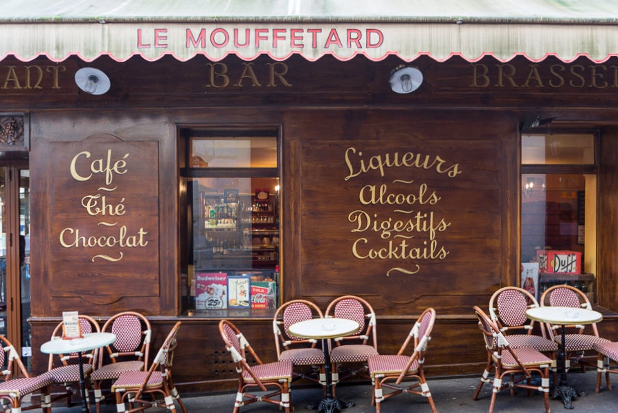 paris photography le mouffetard restaurant fine art travel. Black Bedroom Furniture Sets. Home Design Ideas