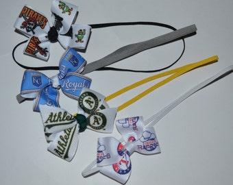 SALE Choose Your Favorite MLB Team Headband Royals Rangers As Pirates SALE
