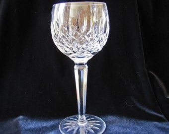 5 Vintage Waterford Irish Crystal Balloon Wine Glasses ON SALE
