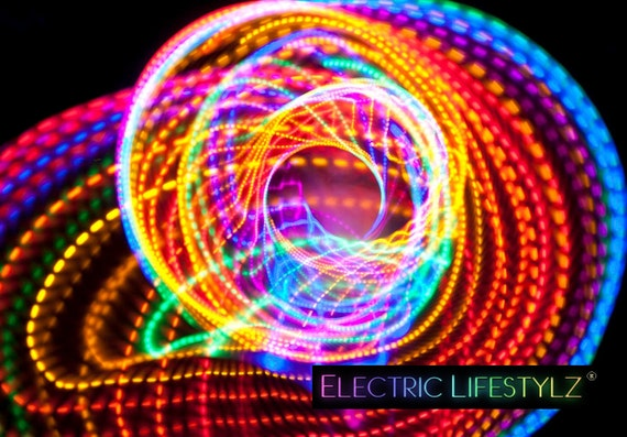SALE!!!! - Free Shipping - Strobing led Hula Hoop - The Fusion