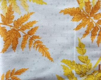 EOB Clearance, 3/4 Yard, Ferns by Martha Negley for Rowan, Green Fabric, Floral Fabric, Fern Fabric