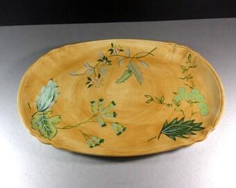 Tracy Porter Laurel Leaf Serving Platter Tray