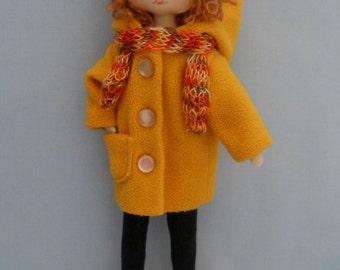 Dress up doll Amanda