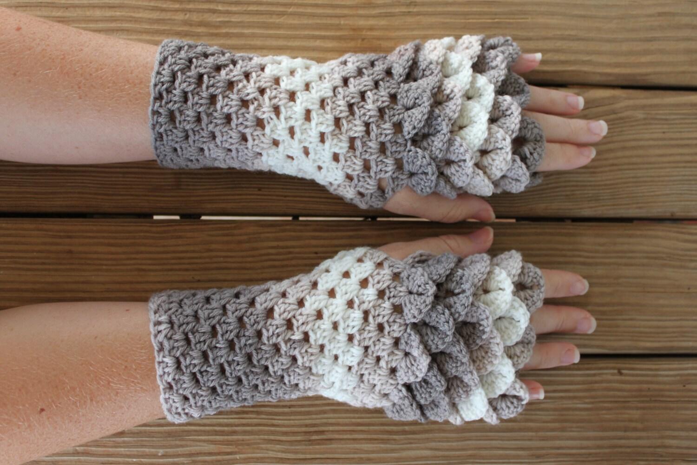 Long dress gloves template
