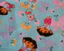 """Children's 14"""" pillow Made to Order. allow 2-3 weeks.Dora blue, Lt. Pink, Med. pink Pillow , John Deere Pillow , Tinkerbell pillow"""