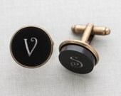 Custom Monogrammed Cufflinks | Personalized Cufflinks | Best Gift for Groomsmen | Gift for Husband | Gift for Boyfriend | Gift for Best Man
