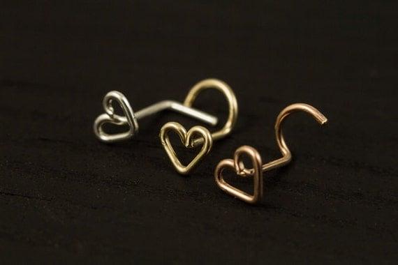 Love Heart nose screw