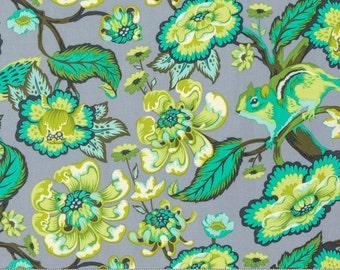 Chipper - Chipmunk in Mint - Tula Pink for Free Spirit Fabrics - PWTP078.MINT - 1/2 yard