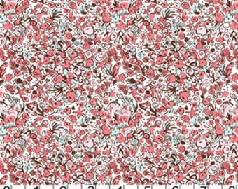 Out to Sea - Sea Flowers in Blossom - Sarah Jane for Michael Miller - DC5629-BLOS-D - 1/2 Yard