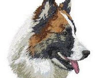 Custom Embroidered Icelandic Sheepdog Tshirt S-4XL