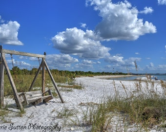 Honeymoon Island  - fine art print