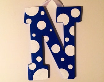 Hand Painted Letter to Match Room Décor
