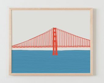 Fine Art Print.  Golden Gate Bridge. March 25, 2015.