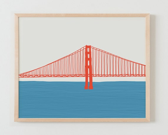 Fine Art Print.  Golden Gate Bridge. March 25, 2015.