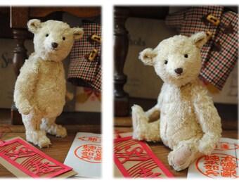 Happy New Year Bear,miniature teddy bear artist by Little Bear