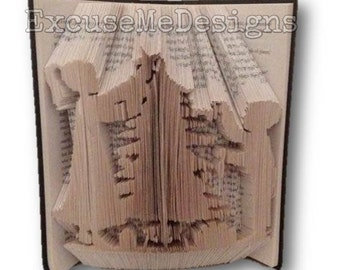 Children Christmas Tree, Christmas, Book Fold Art Pattern - Combination Cut and Fold OR Cut and Fold - 549 pgs 20 cm