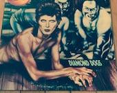 David Bowie - Diamond Dogs,  Gatefold vinyl record album,