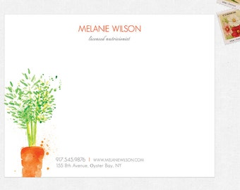 nutritionist dietitian stationery - FREE UPS ground shipping
