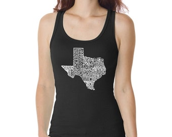 Women's Tank Top - The Great State of Texas