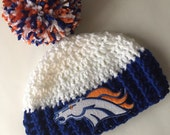 Denver broncos hat brocno infant cap