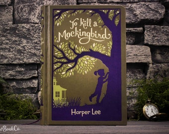 Hollow Book Safe - To Kill A Mockingbird - Harper Lee (LEATHER-BOUND) - Magnetic Closure