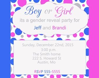 4X6 gender reveal invite jpeg