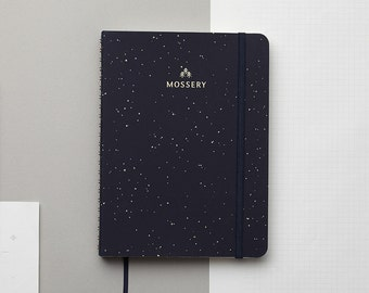 PRE-ORDER Galaxy 2017 Gold Foil Personalized Planner