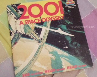 Vintage 1984 2001: A Space Odyssey Kids Stuff story book (no record) HTF!
