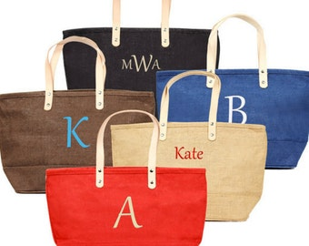 Personalized Monogrammed Nantucket Tote Bag
