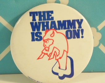 Buffalo Bills Pin The Whammy Is On Vintage 1980s