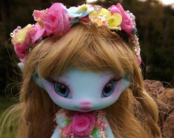 preorder for blue  skin Kyn please read listing fully fairy elf fairie doll only finishs feb 16th