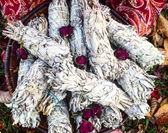 1 Hand wrapped Smudge Stick