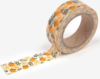 1 roll of washi tape, Tangerine
