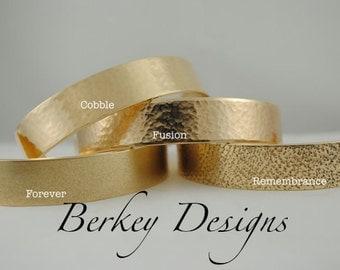 Keepsake Brass Mother of the Bride Hand Stamped Secret Message Bracelet