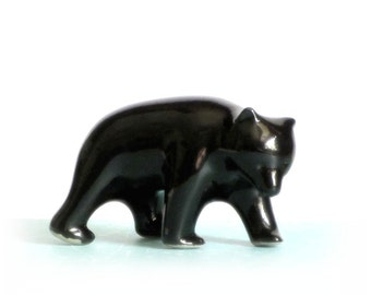Pigeon Forge Walking Black Bear Collectible Animal Figurine