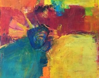 Original Pastel - Abstract 16102