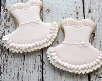 Ballerina Decorated Cookie Favors, Ballerina Cookies, Tutu Cookies, Ballerina Birthday, Birthday Cookies, Dancing Cookies
