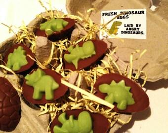 Chocolate dinosaur eggs