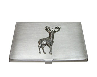 Stag Deer Business Card Holder