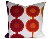 """Vintage 70s Equilibrium Fabric Cushion Cover Gabriella Fountain For Heals 20"""" x 20"""""""