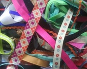 Assorted pack: ribbon and trim. USA shipping included.
