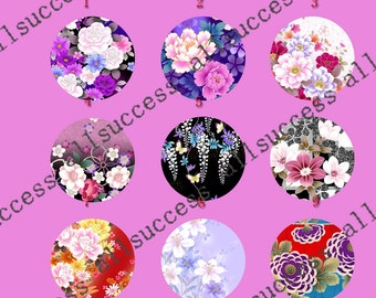 4 pcs 10mm,12mm,14mm,16mm,18mm,20mm,25mm,30mm Round photo Glass Cabochons,jewelry Cabochons finding beads,Photo Glass Cabochons