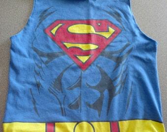 ON SALE Superman Tote Bag, Party Favor Bag, Cloth Bag
