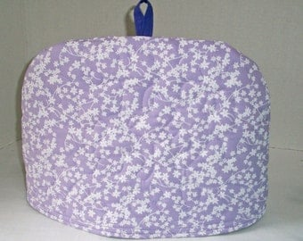 Lavender - Quilted Dome Tea Cozy with Trivet