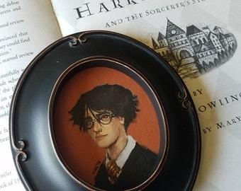 Miniature Giclée Print: Harry Potter