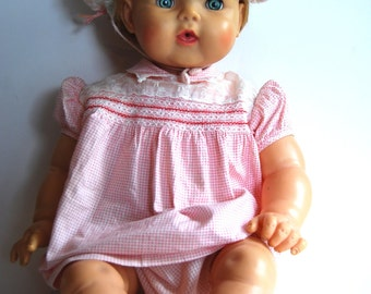 Vintage Baby Doll. Ideal Doll OB23-9