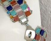 RESERVED   Reversible Tila Bead Bracelet