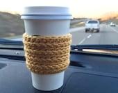 Crochet Coffee Sleeve Pattern, Crochet Coffee Sleeve Tutorial, Crochet Cozy Pattern, Crochet Coffee Mug Cozy Pattern, Crochet Pattern Etsy